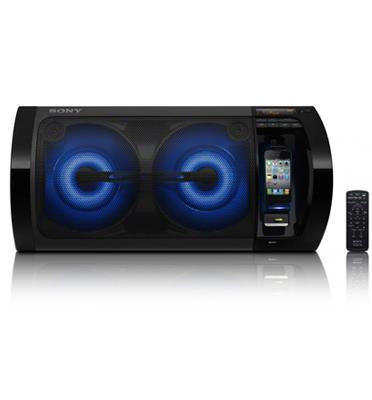 מערכת קול מעוצבת בהספק גבוה 115W+115W RMS תוצרת SONY דגם RDH-GTK11iP מעודפים!