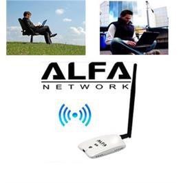 """מתאם רשת אלחוטי WIFI USB לקליטת אינטרנט טווח עד 3 ק""""מ"""
