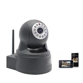 מצלמת IP אלחוטית +צפיה ושליטה מרחוק מכל טלפון IPHONE אנדרואיד ומחשב PC