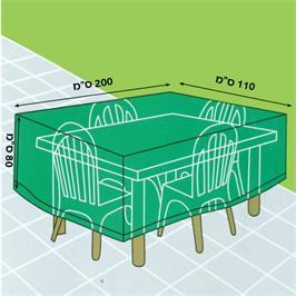 כיסוי לשולחן גן מלבני/שולחן בינוני דגם 1007267