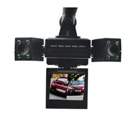 מצלמת רכב דואלית לתיעוד הנסיעה ופנים הרכב כולל צילום לילה מבית GRANDTEC