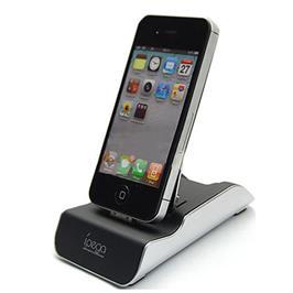תחנת עגינה איכותית לאייפון כולל כבל USB להטענה תוצרת IPEGA דגם PG-IH030A
