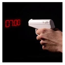 שעון אקדח מעורר מקרין שעה לתקרה תוצרת SURPRISEU2