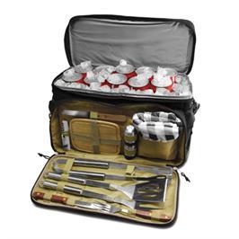 תיק צידנית עם סט כלי ברביקיו - 12 כלים מבית SURPRISEU2 דגם 2su684