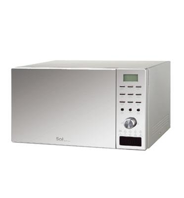 מיקרוגל דיגיטלי כולל גריל 35 ליטר הספק 1000W תוצרת SOL דגם AC035CEH