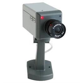 מצלמת אבטחה דמה בעיצוב מצלמה