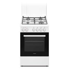 """תנור אפיה משולב כיריים ברוחב 50 ס""""מ תוצרת CROWN דגם CR50"""