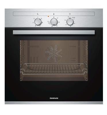 תנור אפיה בנוי גימור נירוסטה 6 תכניות תוצרת קונסטרוקטה דגם CF431250IL