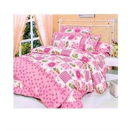 מערכת קיץ מפנקת למיטת תינוק מבית LYTRADE דגם פרח ורוד
