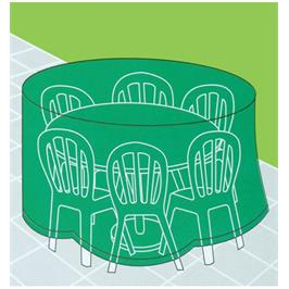 כיסוי לשולחן גן עגול גדול דגם 1007228