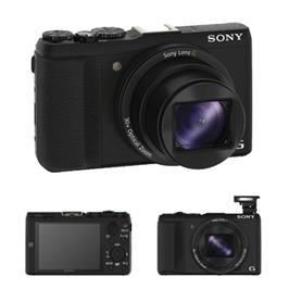 מצלמת סטילס 20.4MP זום 30X תקשורת Wi-Fi ומייצב תמונה תוצרת SONY דגם DSC-HX60