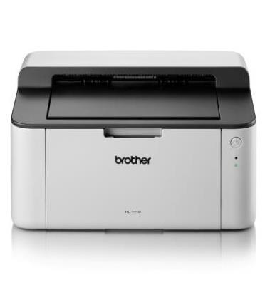 מדפסת לייזר שחור/לבן מהירה וקומפקטית תוצרת BROTHER דגם HL-1110