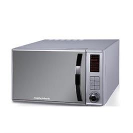 תנור מיקרוגל נירוסטה דלת מראה 23 ליטר, משולב גריל תוצרת MORPHY RICHARDS דגם 44565