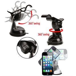 מעמד הקליפס לתפעול ביד אחתנצמד ישירות לדשבורד או לחלון מבית מטריקס דגם clips one touch