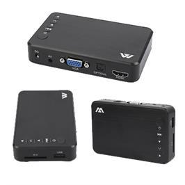 נגן מדיה Full HD עם כניסת כרטיס זיכרון SD מבית מטריקס דגם MiniHD