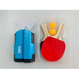 רשת טניס שולחן אוניברסלית או משטח שרוחבו עד 2 מ' מבית ENERGYM + סט מחבטים + 3 כדורים מתנה