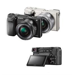 מצלמה 24.3MP מסדרת Alpha A6000 עדשה 16-50 תוצרת Sony דגם ILC-E6000LB - אחריות יבואן רשמי!