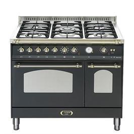 """תנור משולב כיריים דו תאי בעיצוב כפרי ברוחב 90 ס""""מ תוצרת LOFRA. דגם RNMD96MFTE/CI"""