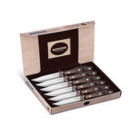 סט מהודר 6 סכיני סטייק POLYWOOD מבית Tramontina