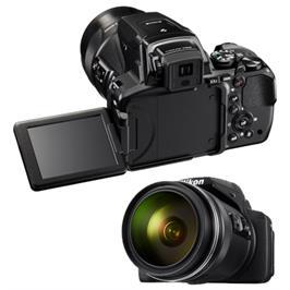 מצלמה מובנית ב-Wi-Fi וב-NFC זום אופטי של X83 תוצרת NIKON דגם COOLPIX P900 - אחריות יבואן רשמי!