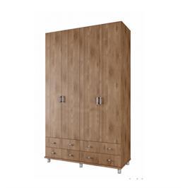 """ארון 4 דלתות רוחב 160 ס""""מ תוצרת Instyle דגם רועי"""