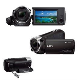 מצלמת וידאו צילום באיכות HD Full צילום תמונות סטילס באיכות 9.2MP תוצרת SONY דגם HDR-CX240
