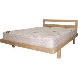 בסיס מיטה 140*190 מעץ אורן מלא  4 רגלים מעץ גושני כולל  מזרן 20סמ תוצרת אולימפיה