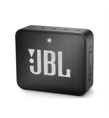 רמקול נייד אלחוטי  קטן ועוצמתי תוצרת JBL דגם GO 2 - שחור