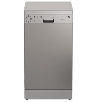 מדיח כלים צר ל- 10 מערכות כלים תוצרת BEKO. דגם DFS05010X