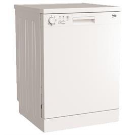 מדיח כלים רחב 12 מערכות כלים צבע לבן תוצרת BEKO. דגם DFN05210W