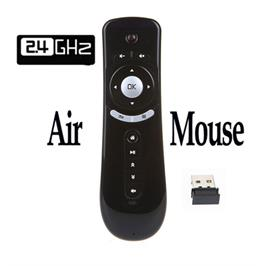 שלט רחוק Air Mouse בעל פונקציית שליטה בעכבר לטלויזיות חכמות ולמחשב דגם mat_air_mouse