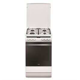 """תנור אפייה משולב כיריים ברוחב 50 ס""""מ צבע לבן תוצרת SAUTER. דגם SAF850W"""