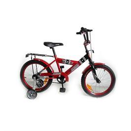 אופני BMX לילדים בגודל 14 אינצ' עם גלגלי עזר ומושב מרופד מבית CITY SPORT
