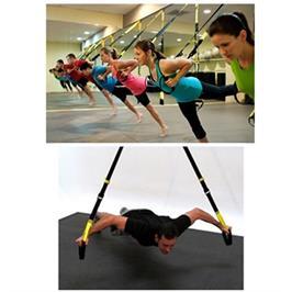 רצועות אימון מאסיביות מקבילות TRX המיועדות לאימון גוף פונקציונלי בבית ובחוץ דגם suspention