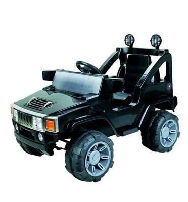ג'יפ HUMMER ממונע לילדים 12V כולל חגורת בטיחות דגם ספיידר