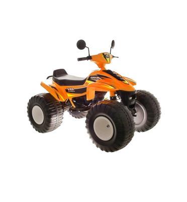 טרקטורון ממונע לילדים 12V עם גלגלים רחבים לנסיעה עד 3 שעות רצוף!