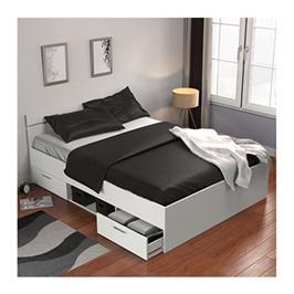 מיטה זוגית עם מגירות ותא אחסון תוצרת צרפת HOME DECOR דגם מישיגן