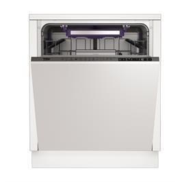 מדיח כלים רחב אינטגרלי מלא חסכוני ל-13 מערכות כלים תוצרת BEKO. דגם DIN28310