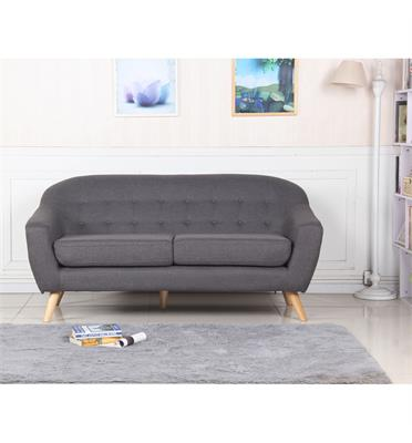 ספה תלת מושבית לבית או למשרד עשוייה בד איכותי תוצרת BRADEX דגם SOHO