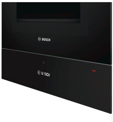 מגירת חימום צבע שחור סדרה 8 תוצרת BOSCH דגם BIC630NB1