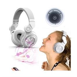 אוזניות בלוטות' אלחוטיות עם סאונד ובס מודגש עד 40 שעות ניגון דגם T2+ מבית BLUEDIO