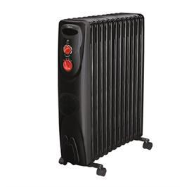 רדיאטור 13 צלעות הפועל בטכנולוגיית ה-Oil Filled Heating (מילוי שמן) תוצרת MIDEA דגם NY23ECF