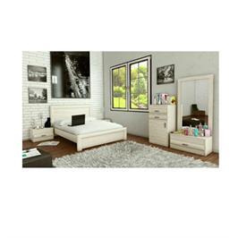 חדר שינה קומפלט מיטה זוגית ו2 שידות כולל קומודה יפנית ומראה מבית INSTYLE דגם ספיר