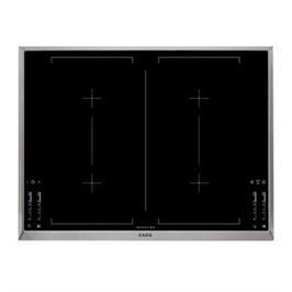 """כיריים אינדוקציה ברוחב 71 ס""""מ MaxiSense עם 4 אזורי בישול גמישים תוצרת AEG דגם HK764403XB"""
