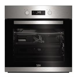 תנור אפיה בנוי עם תא גדול במיוחד 65 ליטר בגימור נירוסטה תוצרת BEKO דגם BIM22301X