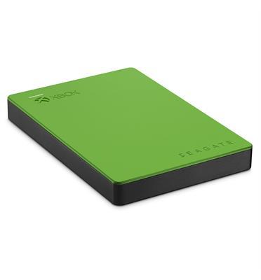 """כונן קשיח חיצוני 2.5"""" 2TB ייעודי עבור  Xbox מבית SEAGATE דגם STEA2000403 -ירוק"""