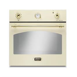 תנור אפיה בנוי בנפח 66 ליטר בעיצוב כפרי בצבע קרם תוצרת LOFRA דגם FRBI69EE