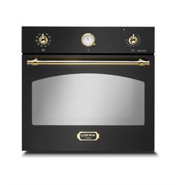תנור אפיה בנוי בנפח 66 ליטר בעיצוב כפרי בצבע שחור תוצרת LOFRA דגם FRNM69EE