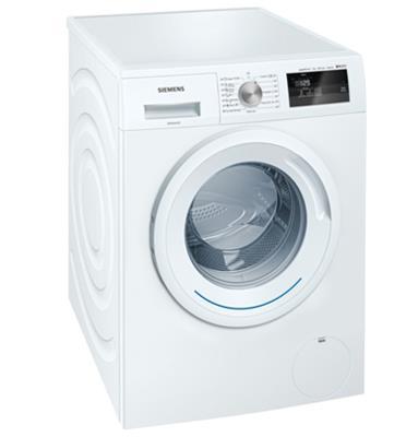 """מכונת כביסה פתח חזית 7 ק""""ג 1,000 סל""""ד VarioPerfect מסדרת iSensoric החדשה סימנס דגם WM10N050IL"""