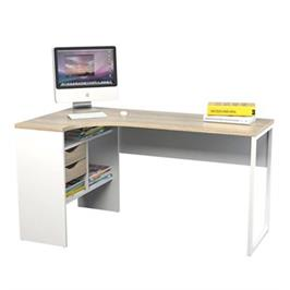 שולחן כתיבה פינתי עם מגירות ותא אחסון תוצרת אירופה HOME DECOR דגם גוליה